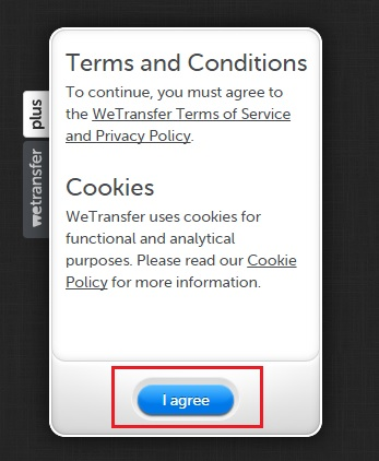 How to share big files with others for free with WeTransfer