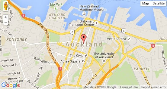 Find An Addresses Coordinates With Google Maps Phancybox NZ - New zealand latitude