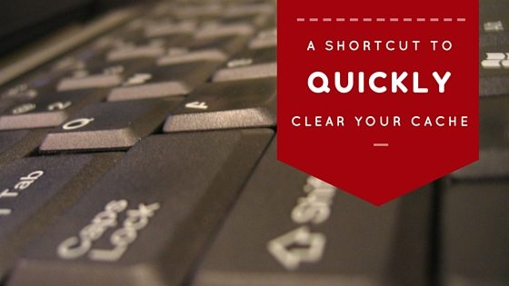 Phancybox A shortcut to quickly clear your cache