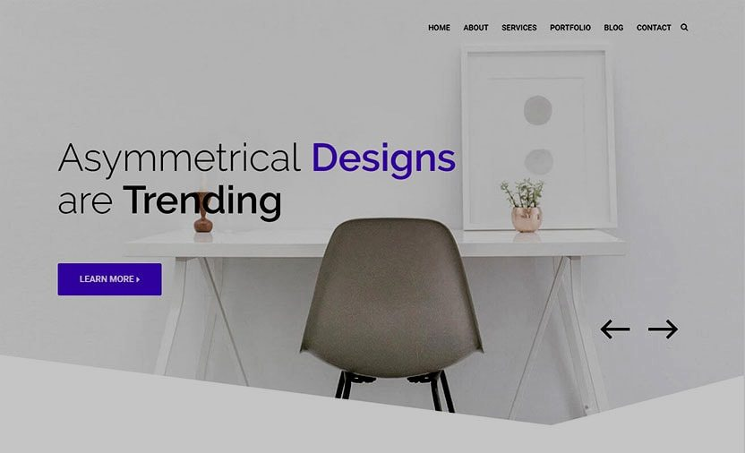 Web design trends Asymmetrical design for websites in New Zealand is trending Homepage office Phancybox Web Design - 5 New Zealand Web Design Trends for 2017